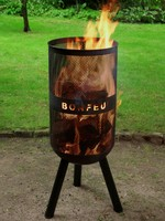 Bonfeu Vuurkorf  bonves 34 - zwart