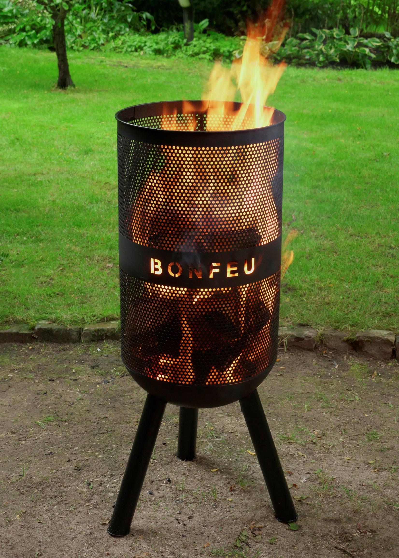 Bonfeu Vuurkorf Comfort zwart - dia 34