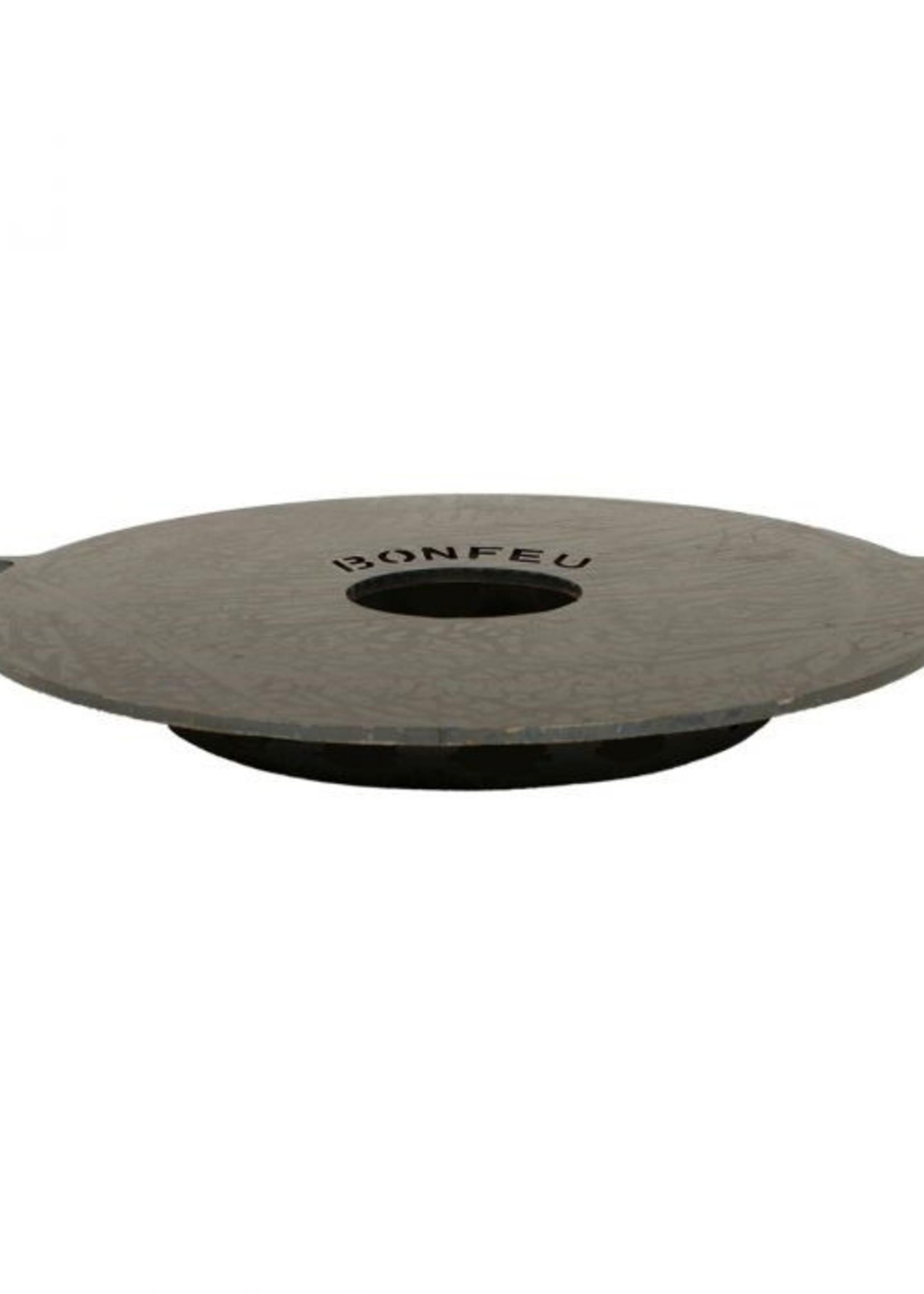 Bonfeu Set: Plancha met spatel dia 45 - voor vuurkorf Comfort 34