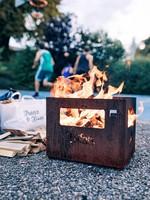 Höfats Beer Box Vuurkorf Multifunctioneel