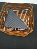 Höfats Pakket Cube Roest in cortenstaal  (rooster en plancha inbegrepen)