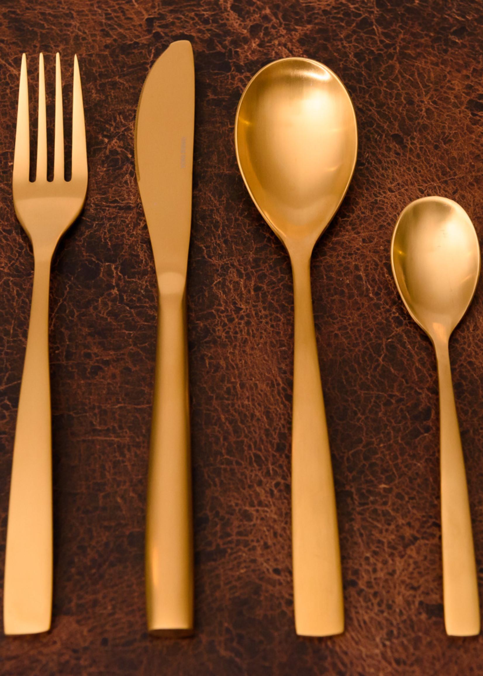 Gedekte tafel- gold line