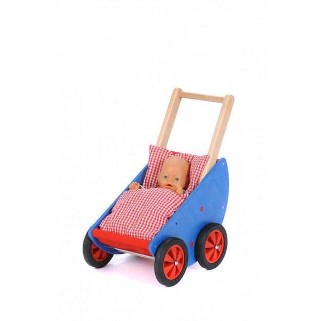 Houten Kinderwagen 'Robi'