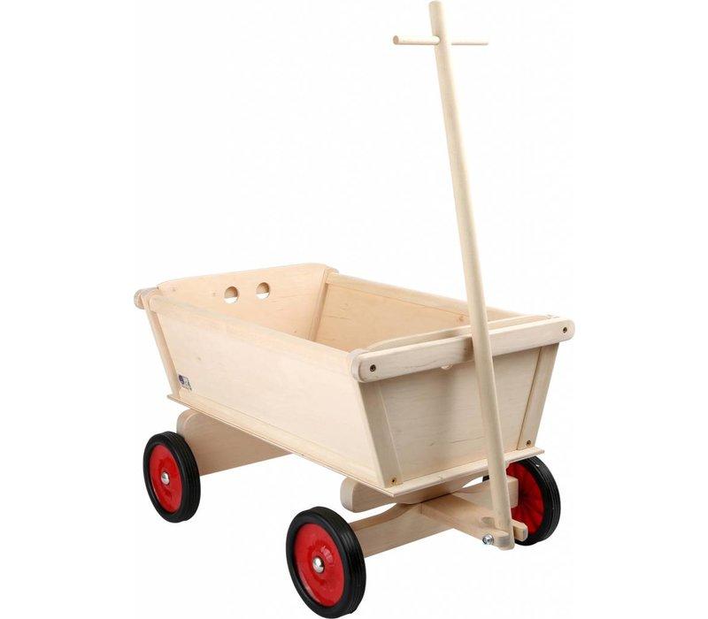 Mini Houten Bolderkar voor kinderen