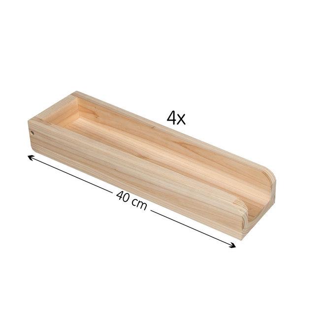 Knikkerbaan hout 8 meter