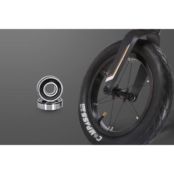 Elvent Loopfiets BalanceGo Zwart 14 inch