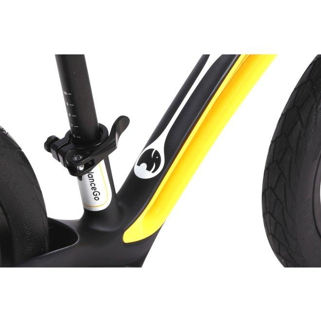 Elvent Loopfiets BalanceGo Zwart 12 inch
