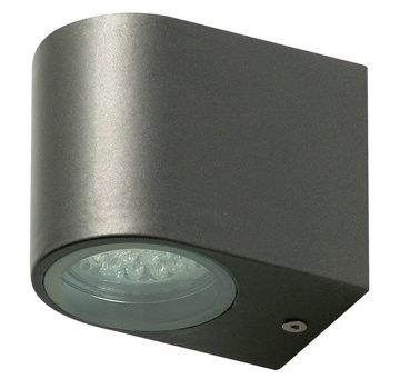 LED Wandlamp voor Buiten 2.4 W 230 lm Donkergrijs