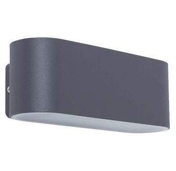 LED Wandlamp voor Buiten 14 W 970 lm Donkergrijs