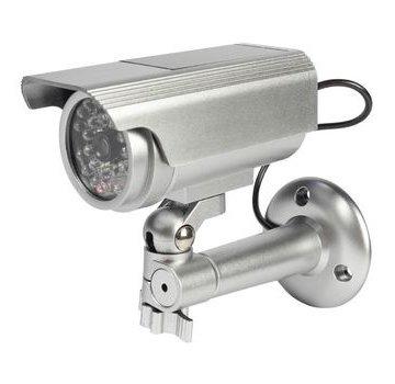 Bullet Dummy Camera IP44 Zilver