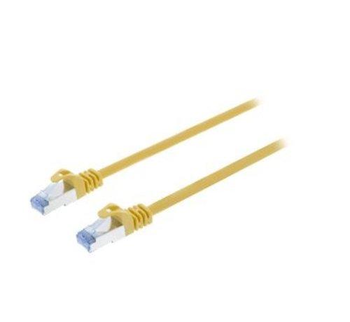 CAT6a S/FTP Netwerkkabel RJ45 (8/8) Male - RJ45 (8/8) Male 10.00 m Geel