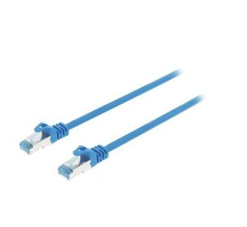 CAT6a S/FTP Netwerkkabel RJ45 (8/8) Male - RJ45 (8/8) Male 5.00 m Blauw