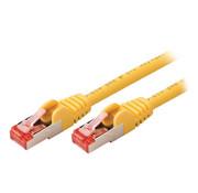 CAT6 S/FTP Netwerkkabel RJ45 (8/8) Male - RJ45 (8/8) Male 2.00 m Geel