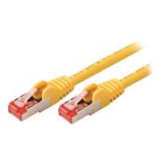 CAT6 S/FTP Netwerkkabel RJ45 (8/8) Male - RJ45 (8/8) Male 0.25 m Geel