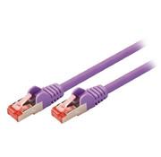 CAT6 S/FTP Netwerkkabel RJ45 (8/8) Male - RJ45 (8/8) Male 10.0 m Paars
