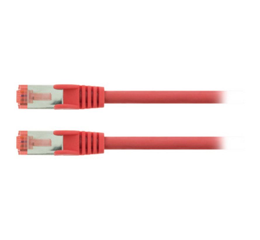 CAT6 S/FTP Netwerkkabel RJ45 (8/8) Male - RJ45 (8/8) Male 2.00 m Rood