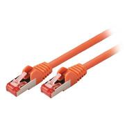 CAT6 S/FTP Netwerkkabel RJ45 (8/8) Male - RJ45 (8/8) Male 20.0 m Oranje