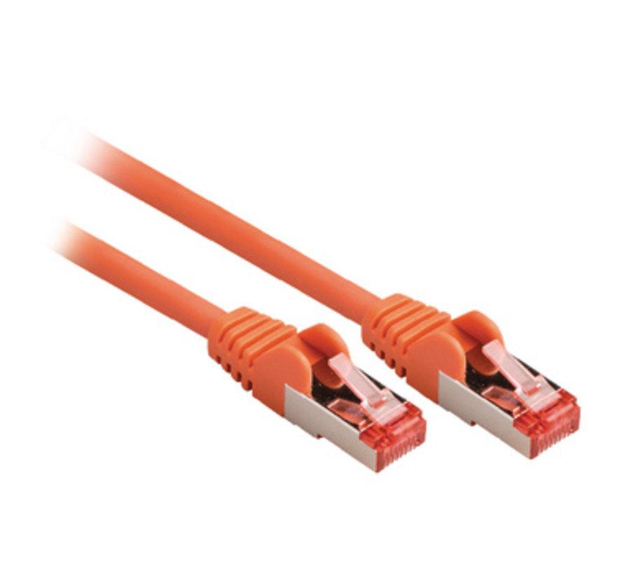 CAT6 S/FTP Netwerkkabel RJ45 (8/8) Male - RJ45 (8/8) Male 1.50 m Oranje