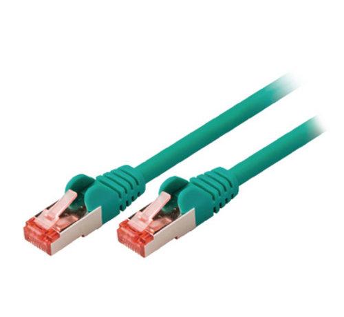 CAT6 S/FTP Netwerkkabel RJ45 (8/8) Male - RJ45 (8/8) Male 7.50 m Groen