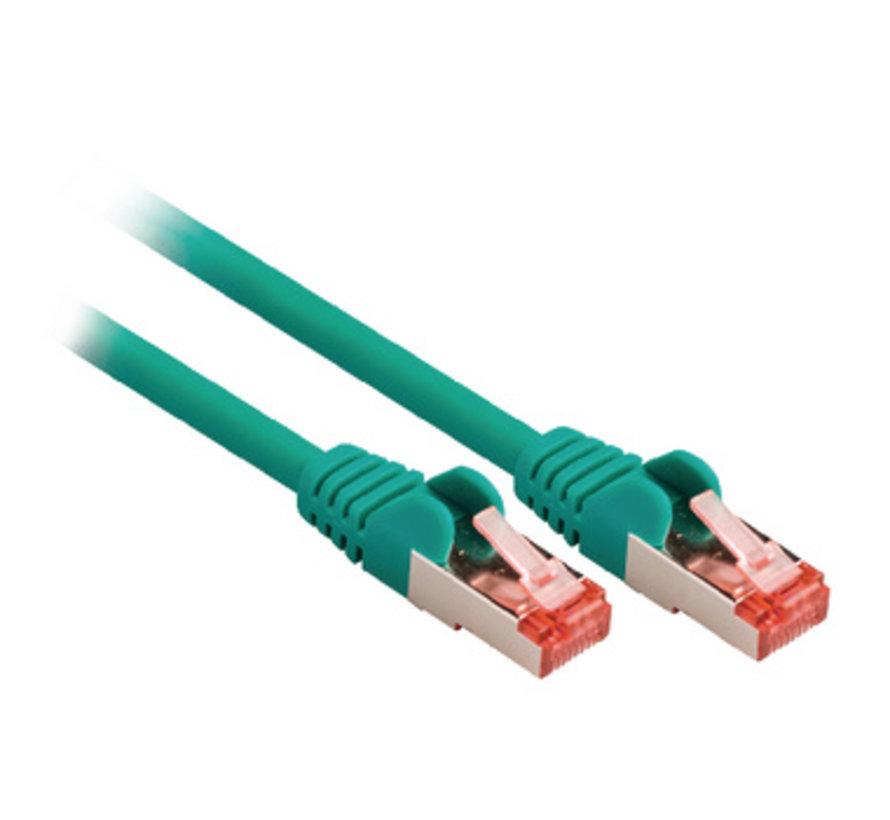 CAT6 S/FTP Netwerkkabel RJ45 (8/8) Male - RJ45 (8/8) Male 2.00 m Groen