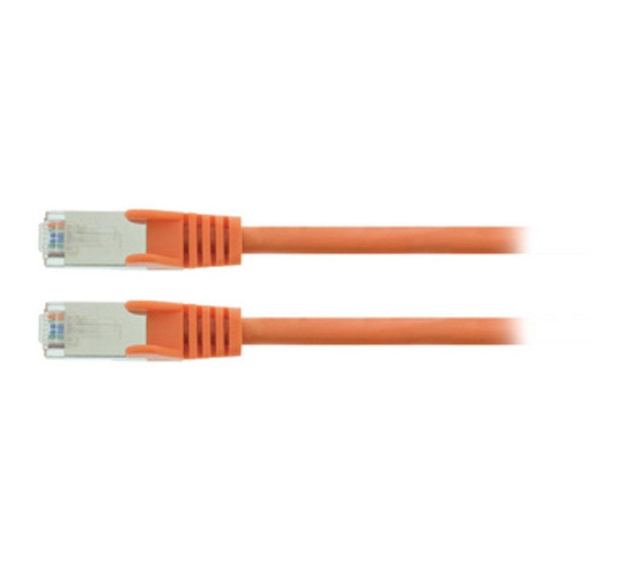 CAT5e SF/UTP Netwerkkabel RJ45 (8/8) Male - RJ45 (8/8) Male 7.50 m Oranje