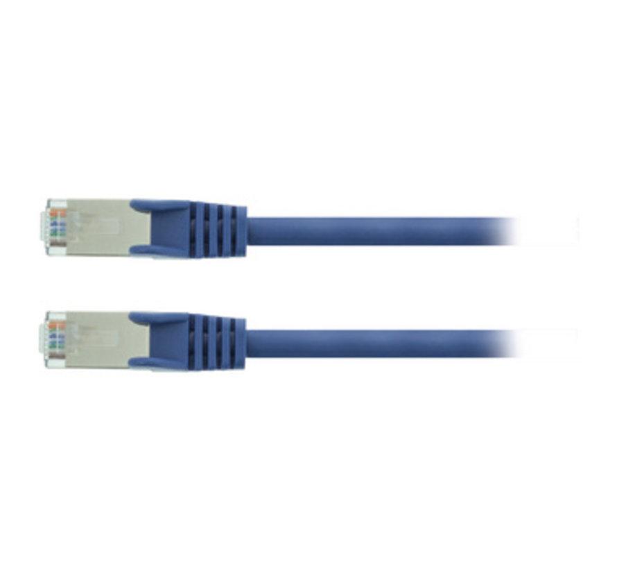 CAT5e SF/UTP Netwerkkabel RJ45 (8/8) Male - RJ45 (8/8) Male 5.00 m Blauw