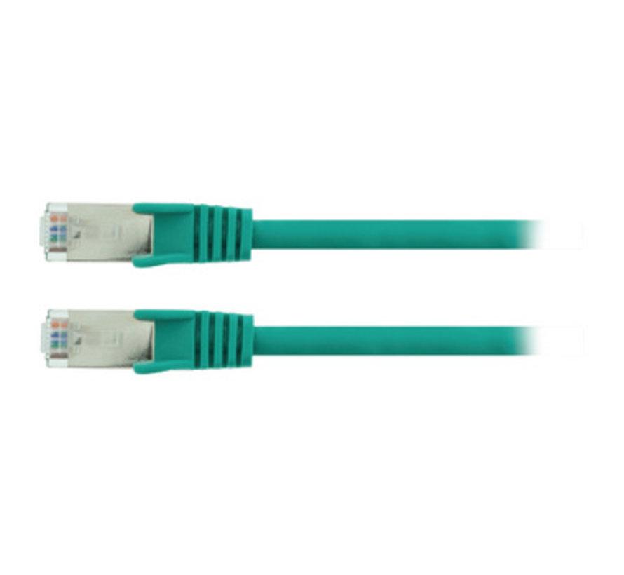 CAT5e SF/UTP Netwerkkabel RJ45 (8/8) Male - RJ45 (8/8) Male 7.50 m Groen