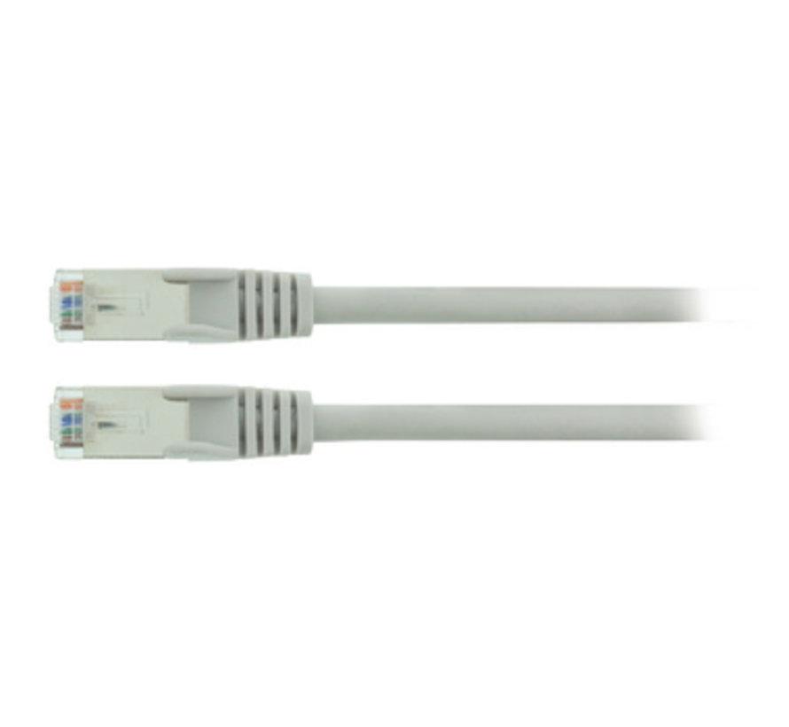 CAT5e SF/UTP Netwerkkabel RJ45 (8/8) Male - RJ45 (8/8) Male 0.25 m Grijs