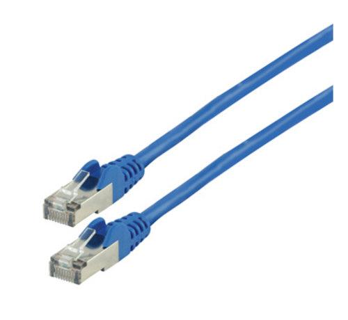 CAT5e F/UTP Netwerkkabel RJ45 (8/8) Male - RJ45 (8/8) Male 10.0 m Blauw
