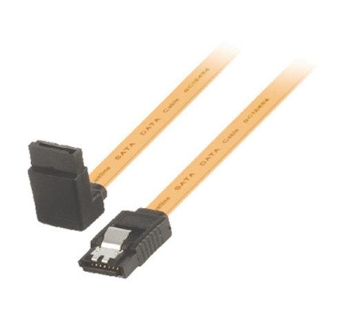 SATA 6 Gb/s Kabel Intern SATA 7-Pins Female - SATA 7-Pins Female 1.00 m Geel