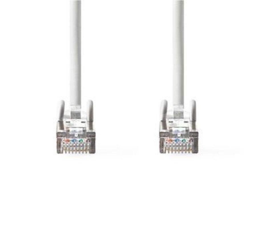 Netwerkkabel CAT6a SF/UTP | RJ45 Male | RJ45 Male | 1,0 m | Wit