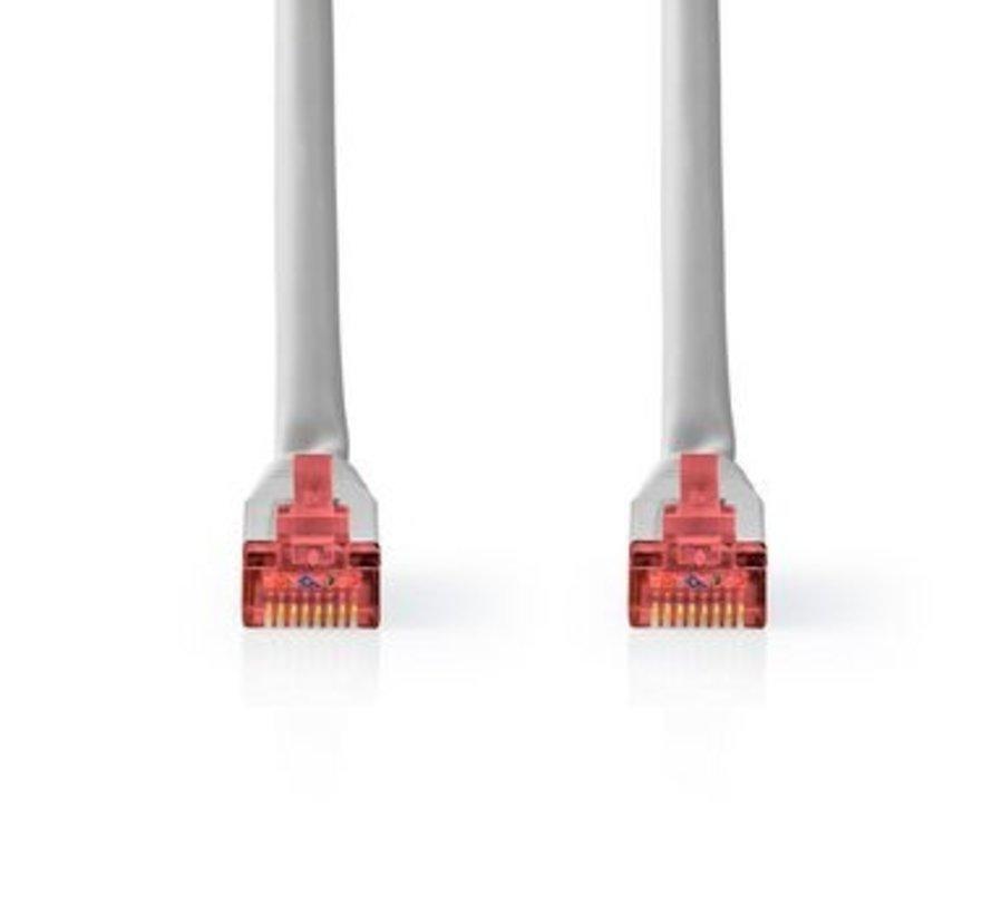 Netwerkkabel CAT6 S/FTP | RJ45 Male | RJ45 Male | 10,0 m | Grijs