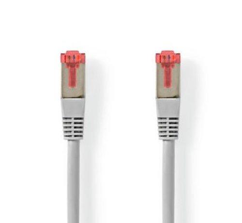 Nedis Netwerkkabel CAT6 S/FTP | RJ45 Male | RJ45 Male | 0,5 m | Grijs