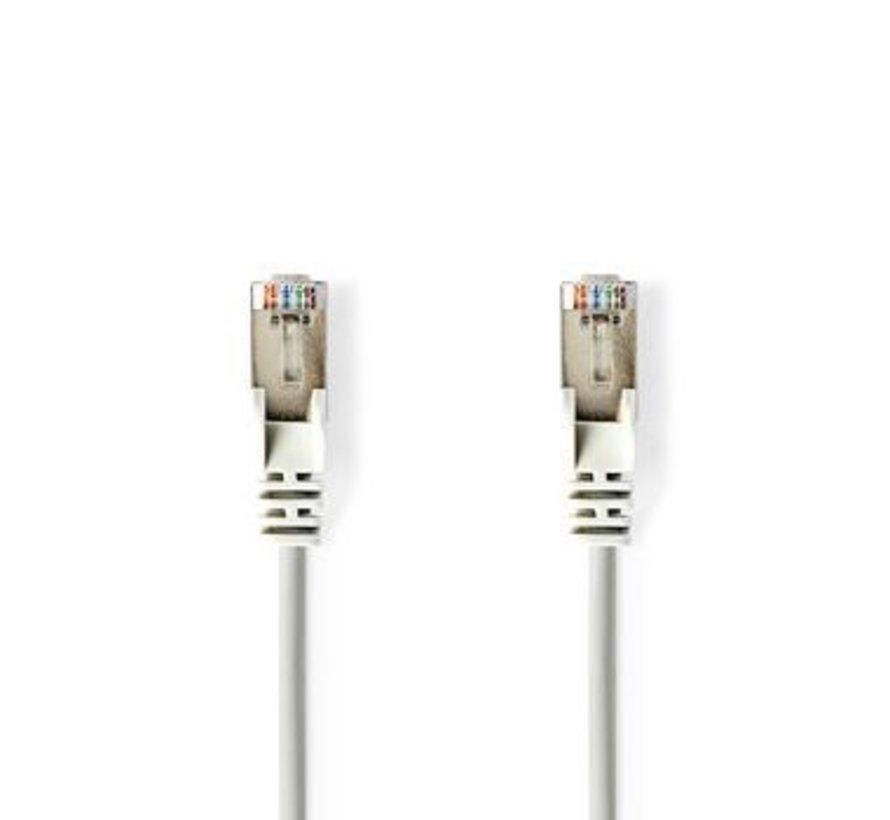 Cat 5e F/UTP-Netwerkkabel | RJ45 (8P8C) male - RJ45 (8P8C) male | 20 m | Grijs