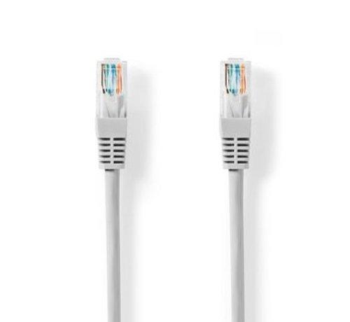 Nedis CAT5e-Kabel   UTP   RJ45 (8P8C) Male   RJ45 (8P8C) Male   5.00 m   Rond   PVC   Grijs   Label