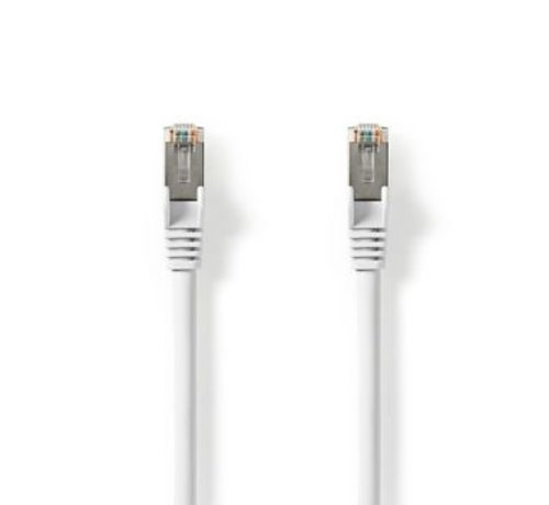 Nedis Cat 8.1 S/FTP-Netwerkkabel | RJ45 Male naar RJ45 Male | 1,0 m | Wit
