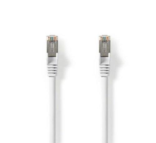 Nedis Cat 8.1 S/FTP-Netwerkkabel | RJ45 Male naar RJ45 Male | 0,50 m | Wit
