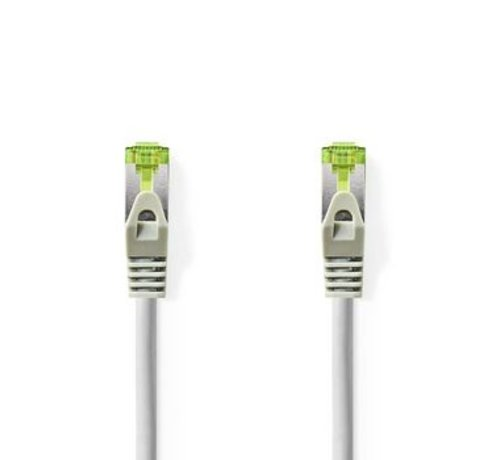 Nedis Cat 7 S/FTP PiMF-Netwerkkabel | RJ45 Male - RJ45 Male | 0,5 m | Grijs