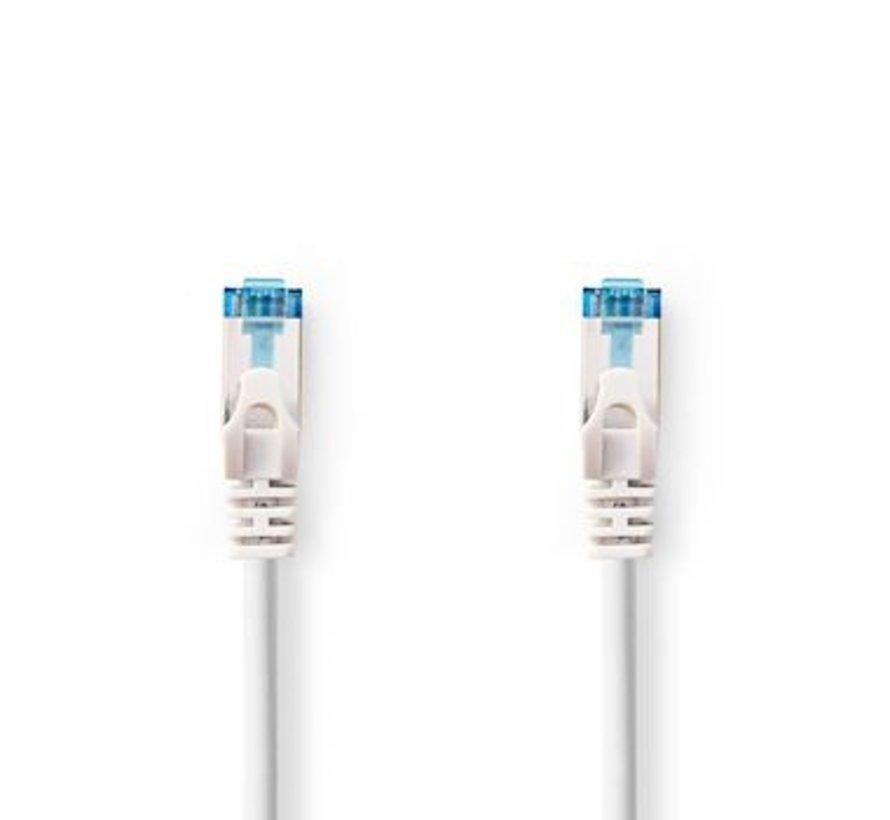 CAT6a SF/UTP-Netwerkkabel | RJ45 Male - RJ45 Male | 5,0 m | Wit