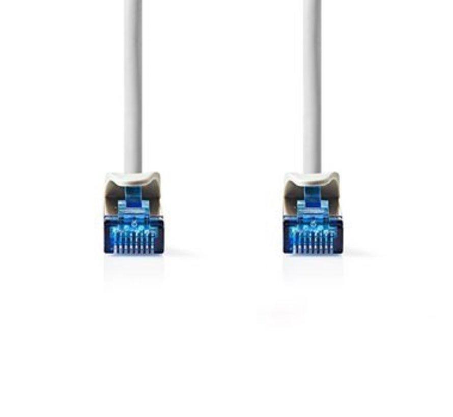 CAT6a SF/UTP-Netwerkkabel | RJ45 Male - RJ45 Male | 0,5 m | Grijs