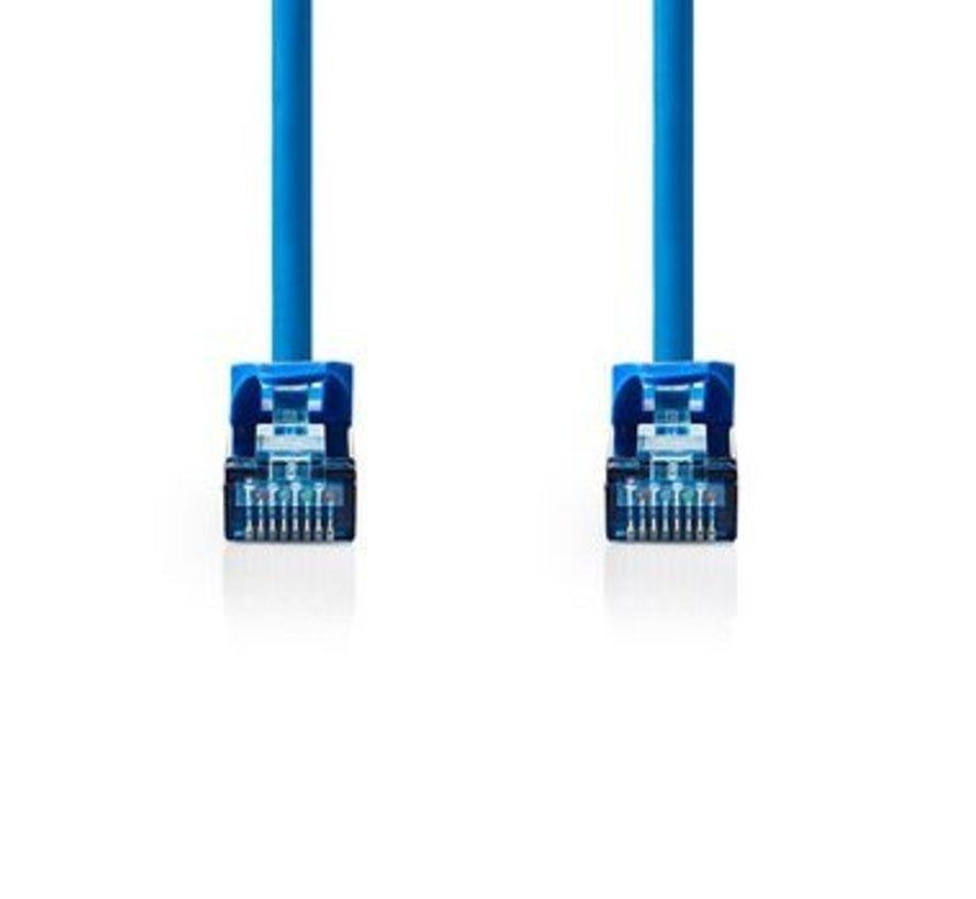 CAT6a SF/UTP-Netwerkkabel | RJ45 Male - RJ45 Male | 1,0 m | Blauw