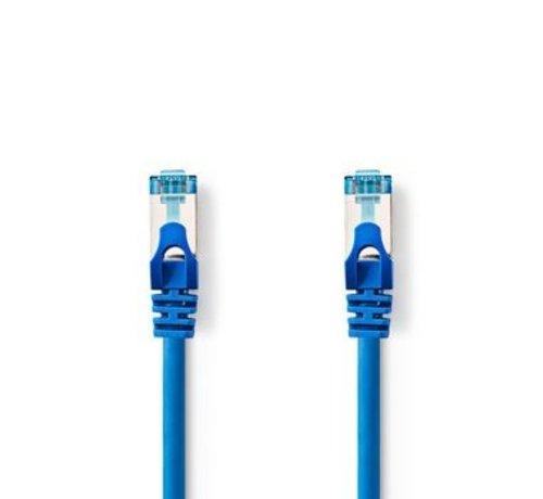 Nedis CAT6a SF/UTP-Netwerkkabel | RJ45 Male - RJ45 Male | 0,5 m | Blauw