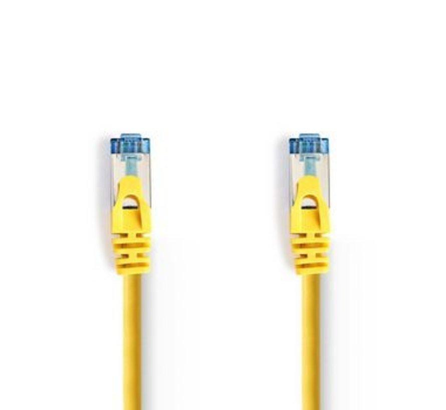 CAT6a SF/UTP-Netwerkkabel | RJ45 Male - RJ45 Male | 3,0 m | Geel