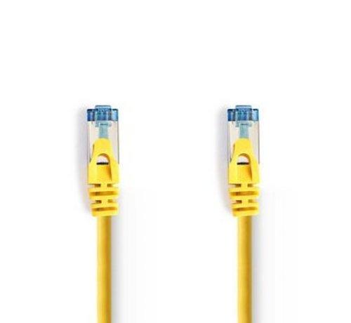 Nedis CAT6a SF/UTP-Netwerkkabel | RJ45 Male - RJ45 Male | 10 m | Geel
