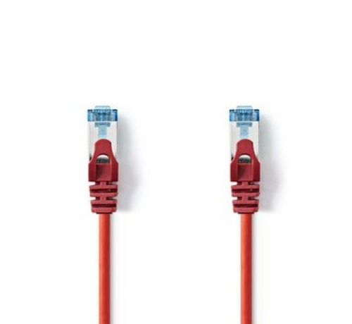 Nedis CAT6a SF/UTP-Netwerkkabel | RJ45 Male - RJ45 Male | 2,0 m | Rood