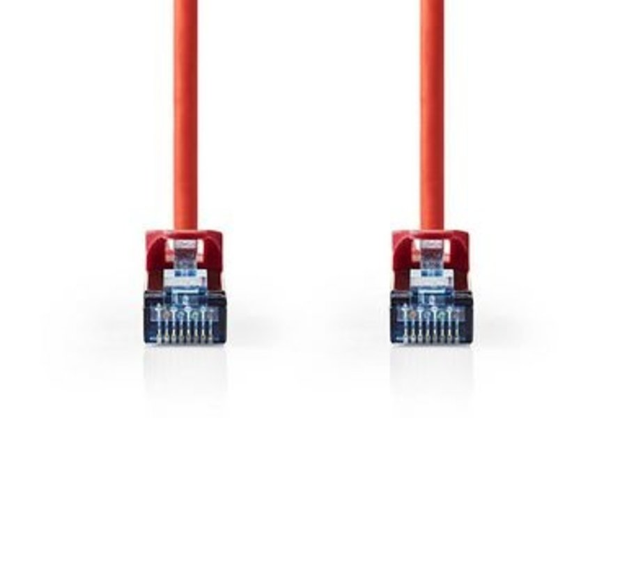 CAT6a SF/UTP-Netwerkkabel | RJ45 Male - RJ45 Male | 2,0 m | Rood
