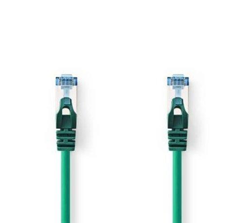 Nedis CAT6a SF/UTP-Netwerkkabel | RJ45 Male - RJ45 Male | 0,5 m | Groen