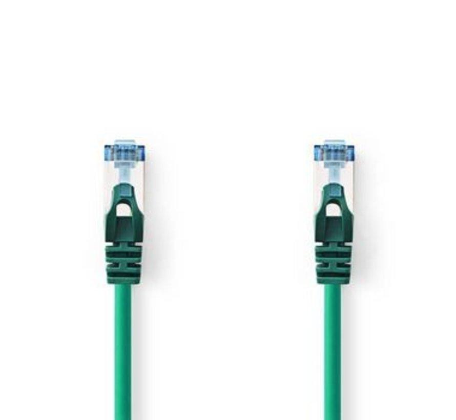 CAT6a SF/UTP-Netwerkkabel | RJ45 Male - RJ45 Male | 0,5 m | Groen