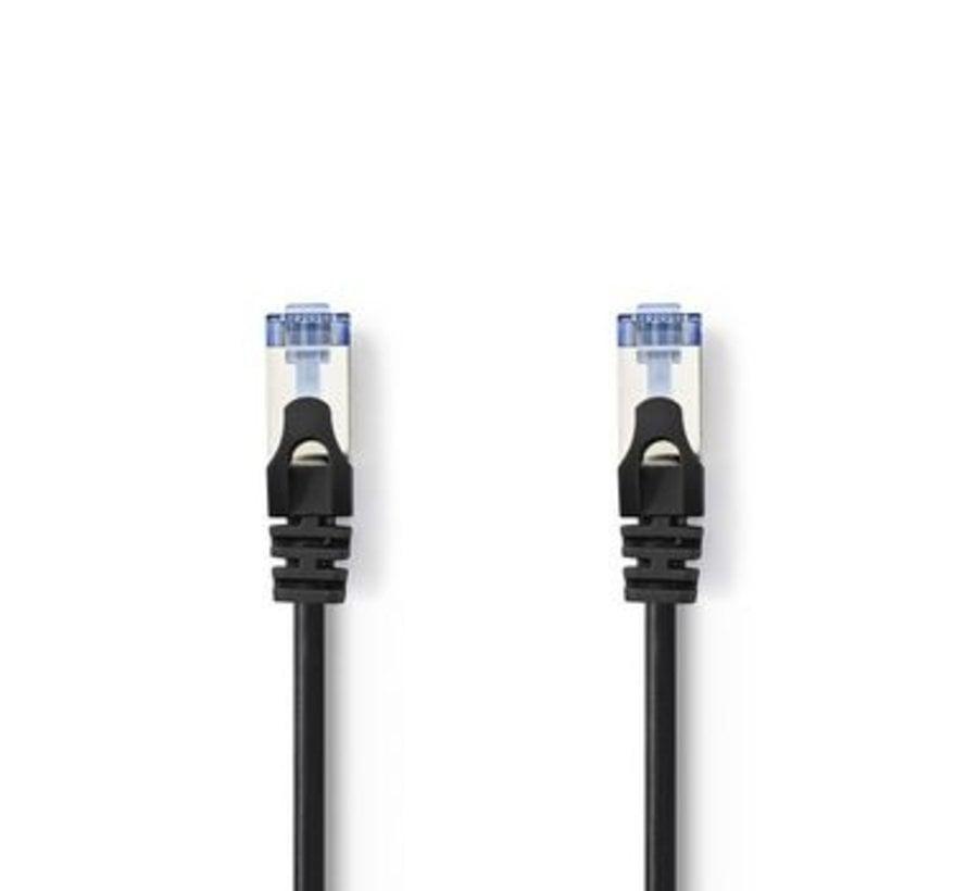 CAT6a SF/UTP-Netwerkkabel | RJ45 Male - RJ45 Male | 5,0 m | Zwart