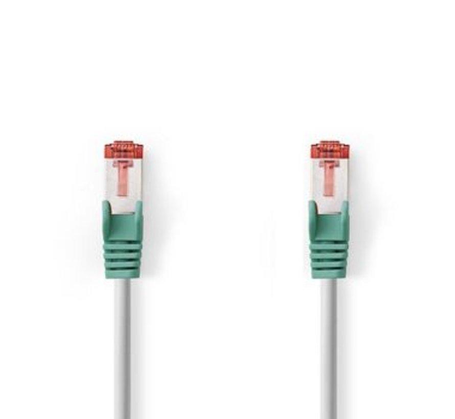 CAT6s F/UTP crossover Netwerkkabel | RJ45 Male - RJ45 Male | 5,0 m | Grijs